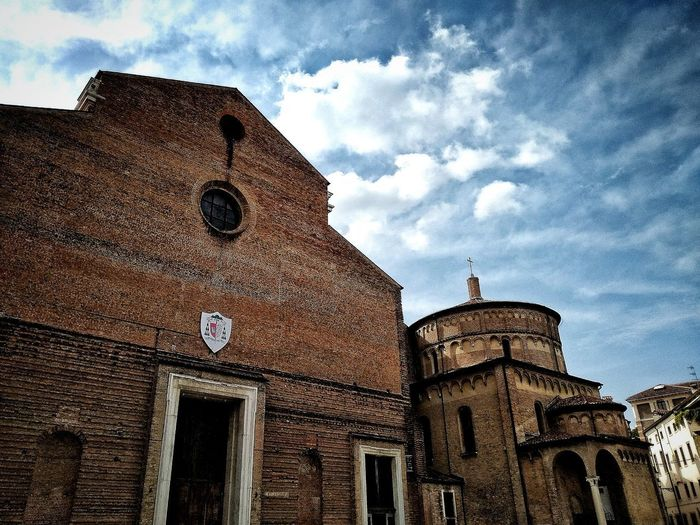 Padova, Aprile 2019 Hdr_Collection City Sky And Clouds Church Low Angle View Architecture Building Exterior Built Structure
