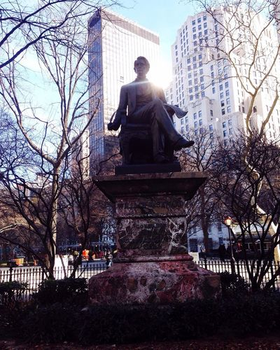 Madison Square Park  NYC Photography 23rd St. Statue NYC Madison Square Park