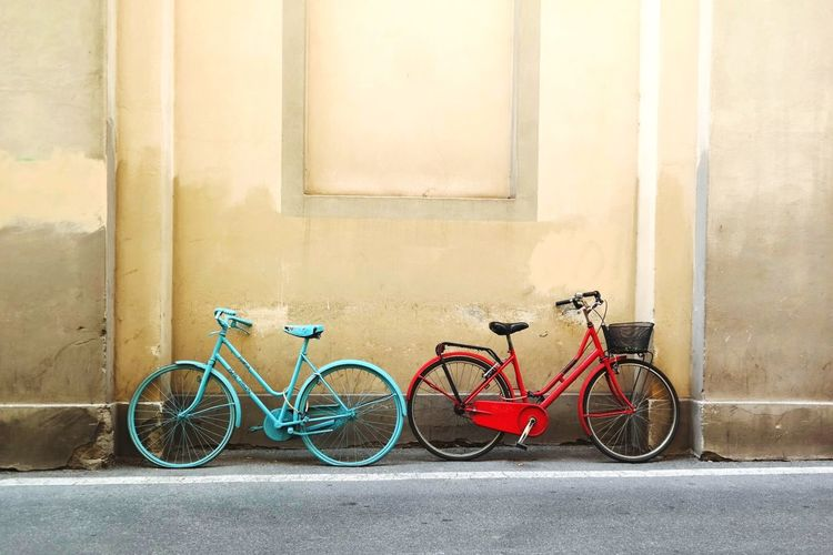 Tuscany Traveling Bycicle On Your Bike
