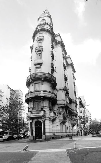 Architecture Building Exterior Built Structure Sky Outdoors Day Travel Destinations Low Angle View History City No People Tree Barrio De Caballito Argentina