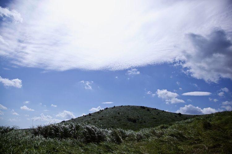 Hill Sky Cloud