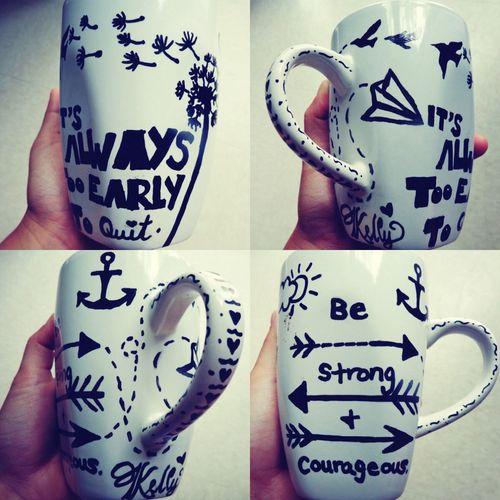 Sharpie Sharpie Art Art Cup