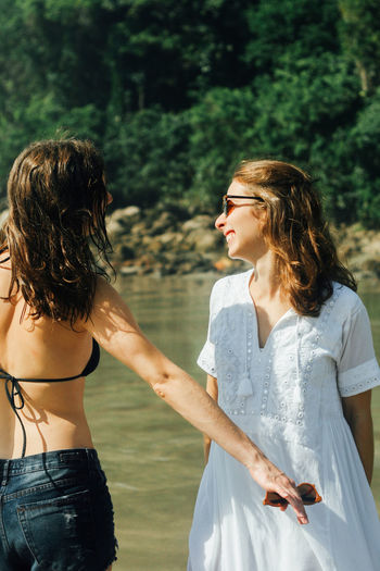 50mm Brazil Girl Power Happiness Laughing Praia Sisters Sunny The Week on EyeEm Beach Beauty In Nature Canon Canonphotography Day Girl Laugh Outdoors Sky Sol