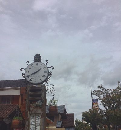 Showcase: January Clock Sky Sky And Clouds Old Clock Travel Brazil Gramado Summer IPhoneography