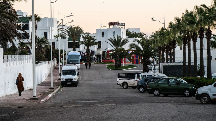 Streetlife Agadir Transportation Mode Of Transportation Motor Vehicle Land Vehicle City Car Street Real People Tropical Climate Tree Plant Road Architecture Men Built Structure Palm Tree Building Exterior Nature Day Sky Streetphotography