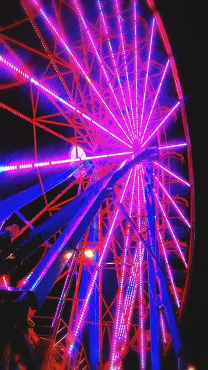 Montgomery, Al. South Alabama State Fair Fairgrounds Midway Night Lights Night Photography Ferriswheel🎡 Ferris Wheel Enjoying Life Things I Like