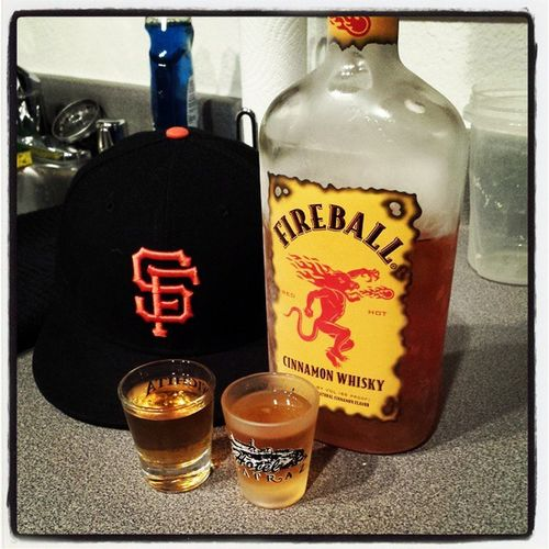 Victory Fireball shots for the @SFGiants going back to the WorldSeries2014