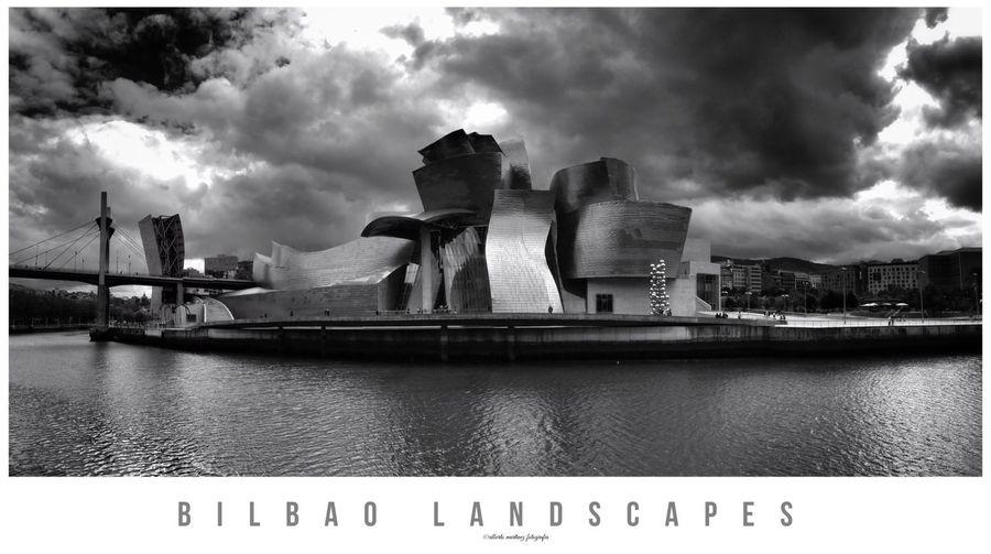 Hello World Landscape_photography Blackandwhite Photography Landscape Urban Lifestyle Euskalherria City Bilbao Cityscape IPhoneography