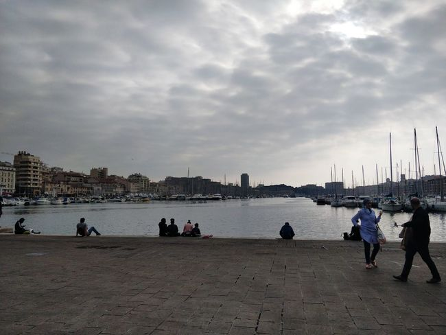 OnePlus 5t 3XSPUnity Marseille Summer Exploratorium Water Beach Sea City Sand Sunset Sky Architecture Horizon Over Water Calm Silhouette Cloud - Sky Scenics Idyllic Outline Adventures In The City