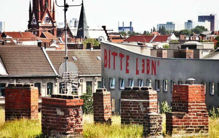 Roof Top Graffiti Soistberlin  Kreuzberg