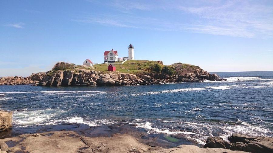 Lighthouse on beach