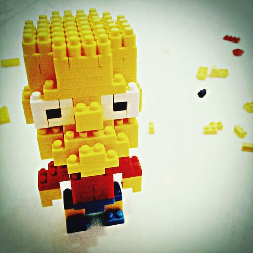 Bart Simpsons Lego Simpsons Legonano Toys