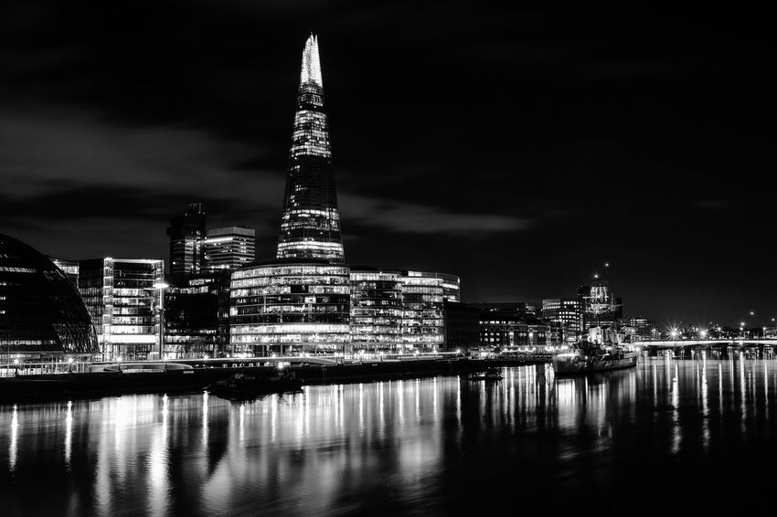 London Night Lights Night Photography Nightphotography Thames Architecture Building Exterior Built Structure City Cityscape Illuminated Night No People Outdoors Reflection Skyscraper The Shard Tourism Travel Travel Destinations Urban Skyline Water Waterfront