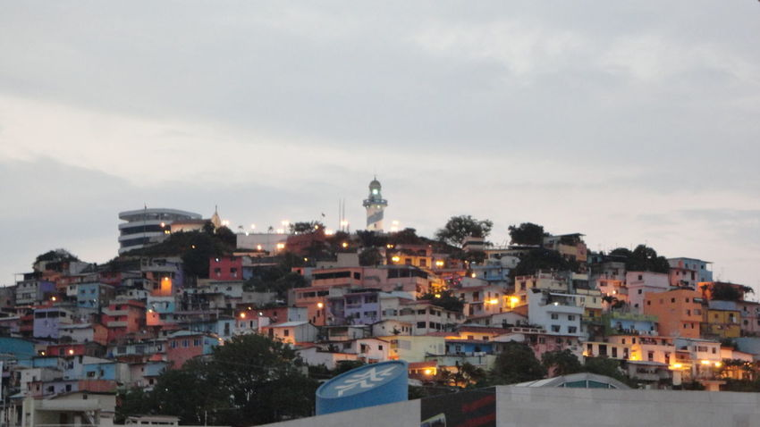 vista al Barrio Las Peñas Guayaquil Ecuador / fotografia: Carlos Andrés Segarra Crespo