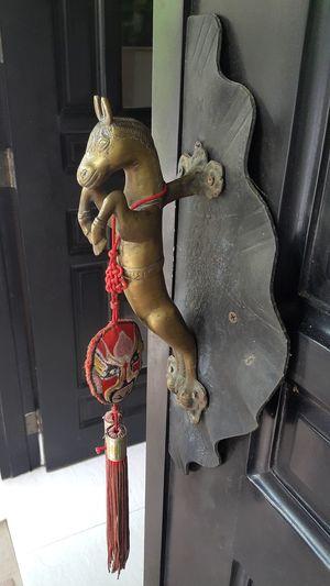 Close-up Doorknob Old Randomshot