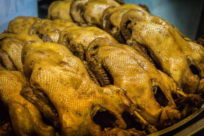 Steamed duck Steamed Duck Close-up Day Food Food And Drink For Sale Freshness Healthy Eating Indoors  Market No People Retail  Thai Food Yellow