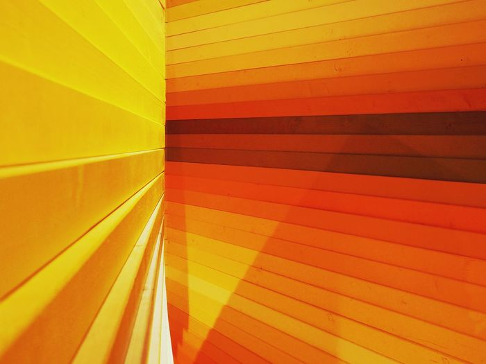 Multi Colored Backgrounds Yellow Red Full Frame Abstract Striped Close-up Geometric Shape Hexagon Triangle Color Swatch Geometry Parallel