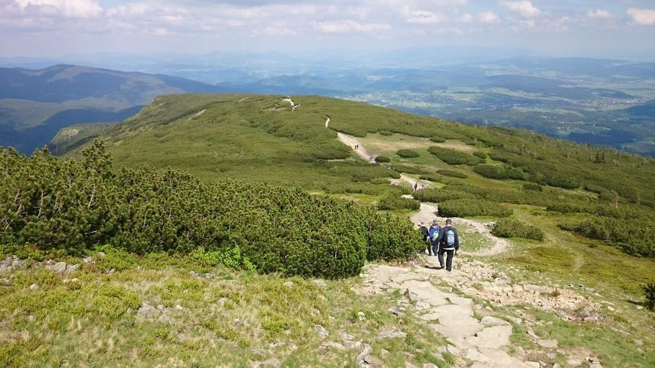 Mountain Mountain Range Beauty In Nature Outdoors Pieniny Pieninski National Park Mountain Trail Poland Landscape