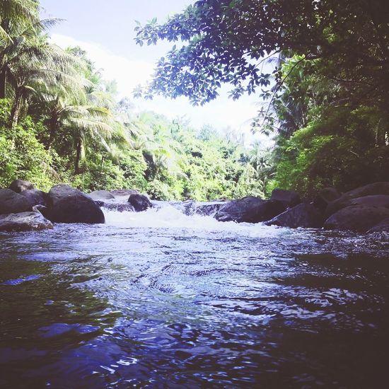 Amambahag River..best place to relax and swim.. Enjoying Life Hello World ..