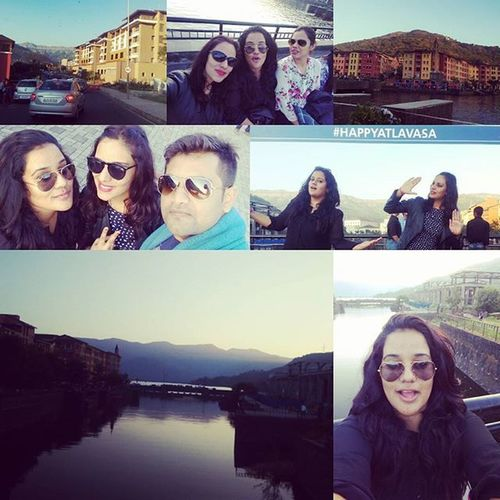 The lavasa city day! Pune Replican city of Portofino🔮