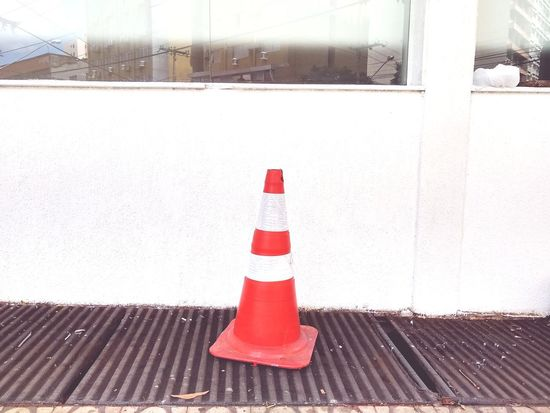 Traffic Cone Red Protection Danger Guidance Safety Security