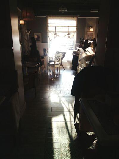 Cafe Interior Coffee Time Simplicity Sun Afternoon Olitangerine