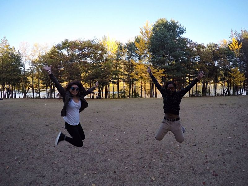 Holiday October 2015 Nami Island Autumn Buddy Jump South Korea