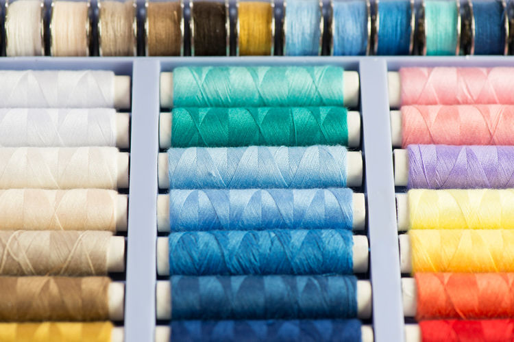 Yarn Sewing for Tailoring work Crafts Knitting Scissors Tailor Tailoring Clothing Colorful Cord Coil Cotton Handmade Hobby Material Needle Seamstress Sewing Accessories Sewing Material Sewing Supplies Stitching Textile Thread Spool Yarn