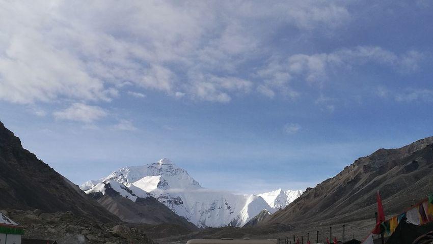Mountain Snow Cold Temperature Winter Snowcapped Mountain Adventure Glacier Mountain Peak Polar Climate Sky