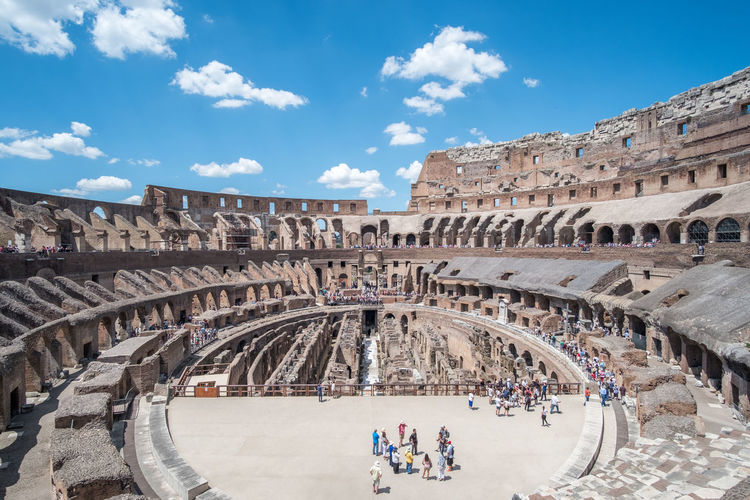 Rome Italy Colosseum Architecture History The Past Group Of People Built Structure Ancient Travel Destinations Tourism Sky Crowd Amphitheater Arch Travel Old Ruin Cloud - Sky Large Group Of People Real People Women Day Tourist Ancient Civilization Archaeology Visit