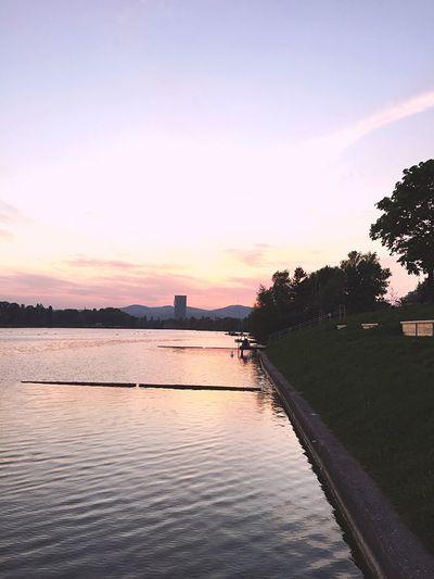 Beauty In Nature Lake Vienna Donau