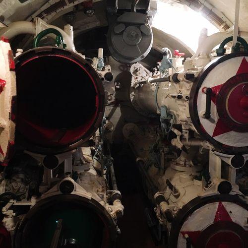U-boat Insides Torpedo