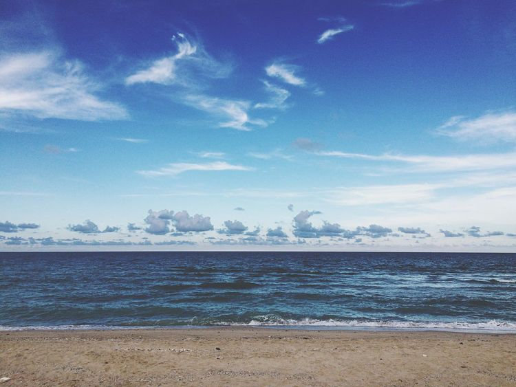Sea Sea And Sky Sand Blue Sky Beach Evening Seascape Clouds And Sky Thailand Khanom Nakhon Si Thammarat Clouds Landscape Nature Cloudscape The Great Outdoors - 2016 EyeEm Awards Waves Evening Sky Water Fine Art Photography Color Palette Color Palette