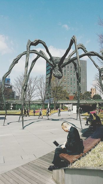 Maman Mother Tribute Louise Bourgeois Bronze Spider Mori Art Museum Tokyo Japan Travel Photography