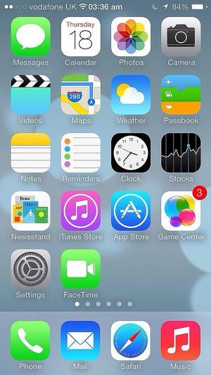 iOS7 ;) Apple IPhone IOS 7 Beta3
