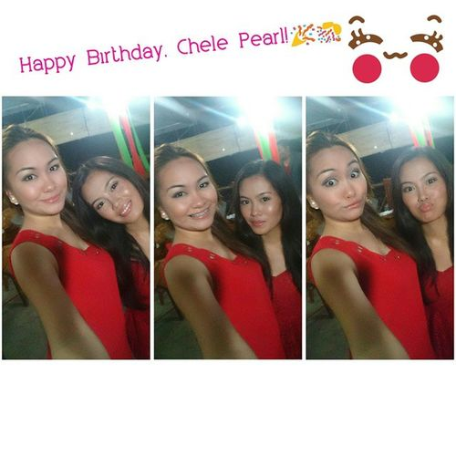 Happy Birthday, Chele Pearl! ☺ Love you! ❤ ThePearls Cousins