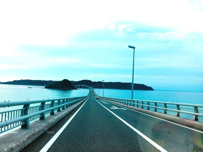 帰り道は角島へ😙🌿ここもまた絶景すぎた😧💕 3連休 角島 角島大橋 山口 絶景 Sea Sky