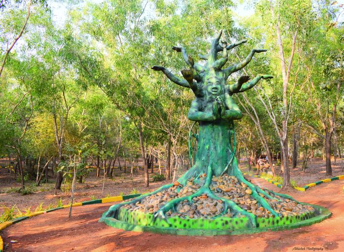 Tree Sculpture Tree Park Clicked On Nikon D3300 Statue Nature Outdoors Plant
