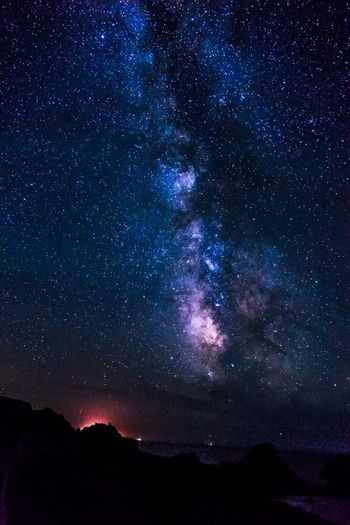From My Point Of View Traveling Astrophotography TravelOregon Oregon Coast Milky Way Night Photography Pacific City Oregon Sony A77