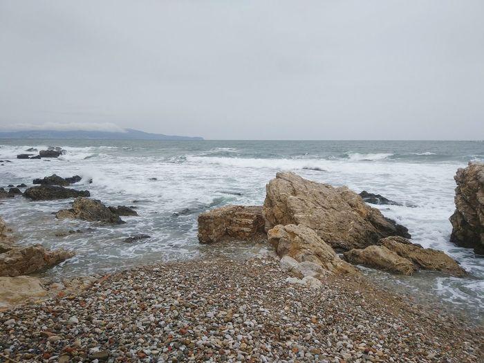 L'Escala L'Empordà Catalunya Water Sea Beach Wave Sand Rock - Object Sky