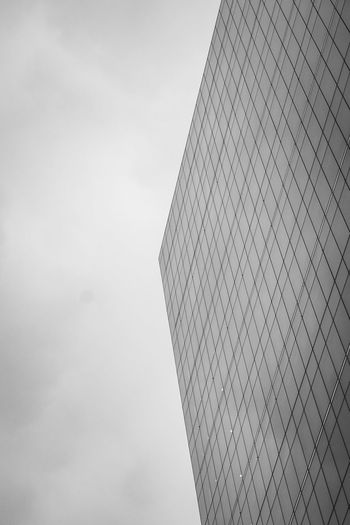 black and white of a skyscraper in auckland new zealand Architecture Auckland City Architecture Black And White Building Building Exterior Built Structure City Cloud - Sky Day Low Angle View Minimal Modern Nature New Zealand No People Office Office Building Exterior Outdoors Pattern Sky Skyscraper Tall - High Tower The Architect - 2018 EyeEm Awards