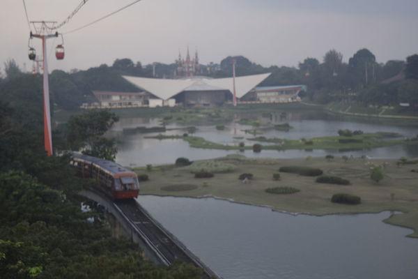 Taman Mini Indonesia Indah Jalan-jalan Sore Indah Kreta Gantung via Fotofall