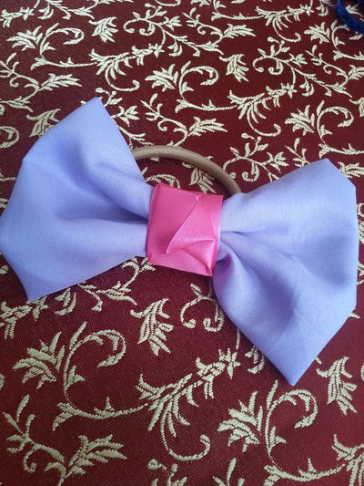 Purple-pink Hairbow