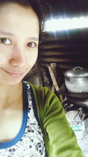 😊Woodstove Loveit Cooking Modern Primitive