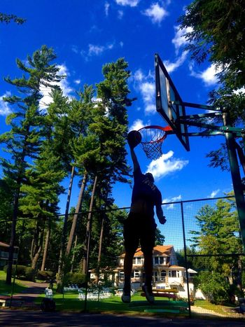 People And Places Lakegeorge adirondack Adirondacks Basketball Jump Motivation Inspirational Lebron Athlete Nature Forest
