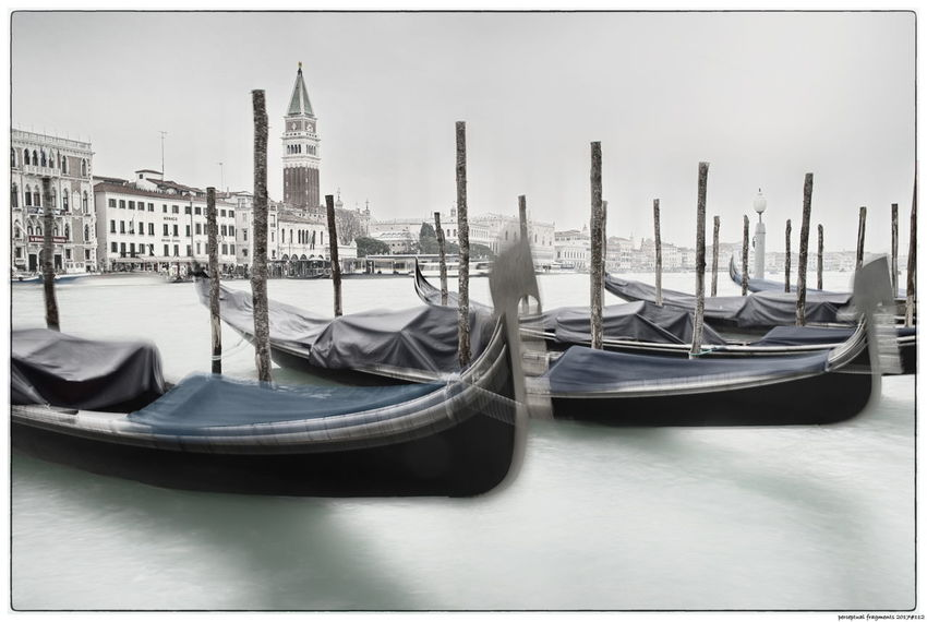 Campanile Di San Marco Gondola Italia Venedig Venezia Venice, Italy Campanile Italy Outdoors Water