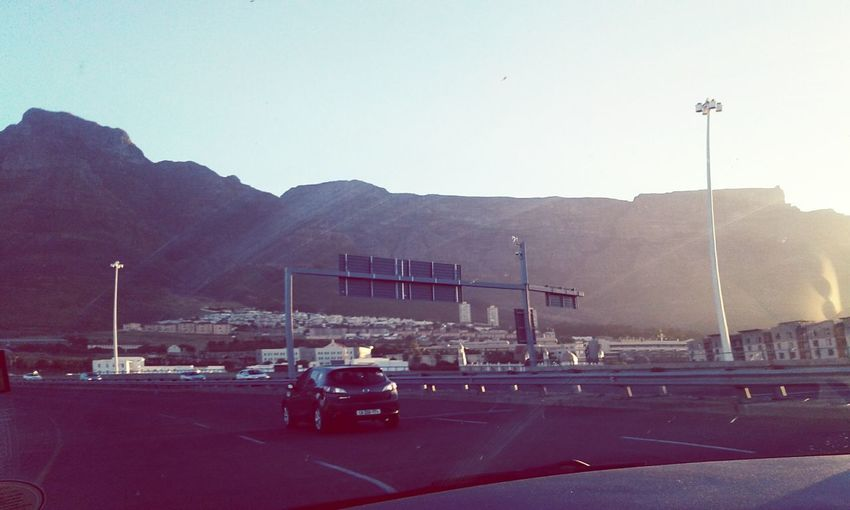 Drives Mountain Outdoors No People Nature The Way Forward Wanderlust Front View My City Life Through The Eyes Of An Amatuer Tablemountain