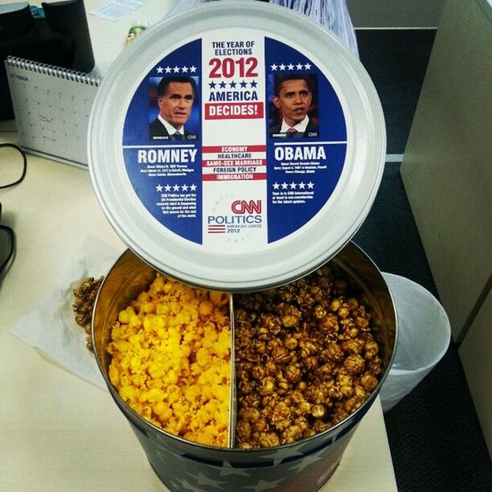 Is this Popcorn Racist ? President CNN America wtf