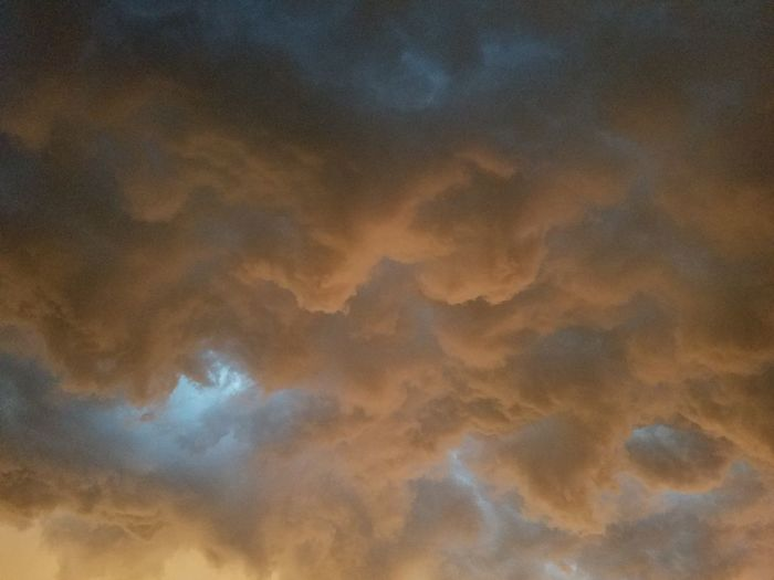 Gold Colored Sunset Cloud - Sky Nature No People Outdoors Beauty In Nature Sky Summer Storms South Dakota Summer Storms Sioux Falls South Dakota No Filter, No Edit, Just Photography