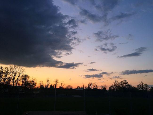 Evning Sky Clouds Sunset Spring Like4like Follow Likeforlike Followme Follow4follow Like Orange Sky City